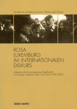 Buchcover Rosa Luxemburg im internationalen Diskurs