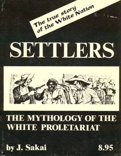 Buchcover Settlers - The mythology of the white proletariat